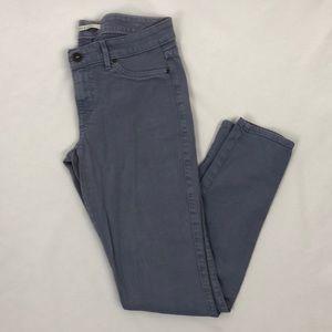 Rich & Skinny Gray Skinny Jeans Size 28